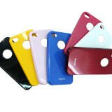 luxury leather case for iphone 4