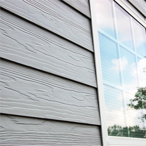 Beautiful appearance Paint Wood Grain Cement Board Price UV coating Fiber Cement board
