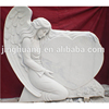 Prefabricated Granite Angel And Heart Tombstone
