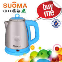 1.8L 1500W SS Cordless Electric kettle/Electric automatic shut-off jug for water warming