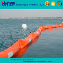 Waterproof oil Against Oil Boom Tarpaulin PVC Coated Polyester Fabric