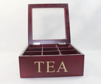 High quality wooden tea box with best price for gifts
