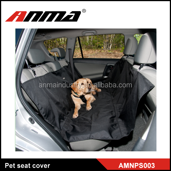 Oxford soft Feature dog car pet seat cover waterproof