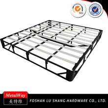 Cheap custom steel frame box spring bed