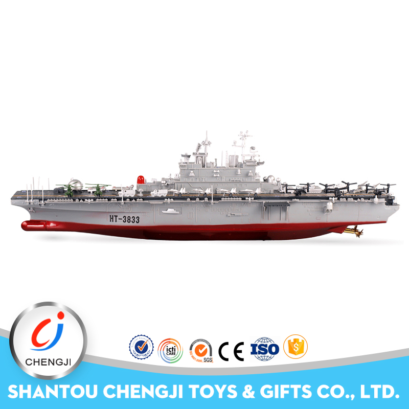 New Arrival Funny military large plastic toy 1/350 scale model ship