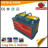Truck Starting DIN Standard 12volt Maintenanc-free rechargeable dry battery for car