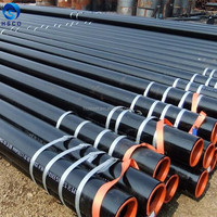 ASTM A106 Gr.B ERW/HFI /EFW/ LSAW/DSAW Line Pipes For Oil Or Gas