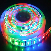 CE RoHS UL Certification <strong>RGB</strong> flexible LED strip <strong>RGB</strong> color 5050 12 lm strip light 30 leds one meter led light 12V