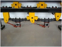 semi trailer parts of terrafirma suspension
