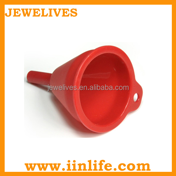 New kitchen tool food grade silicon small funnel