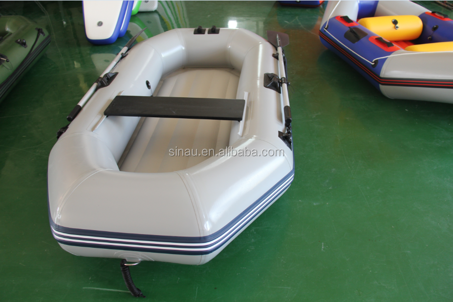 inflatable fishing boat PVC boat rowing boat