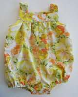 Posh design baby bubble rompers vintage cute yellow sunshine climbing clothes
