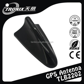 TLB2202 Combined Functions Car GPS Shark Fin Antenna