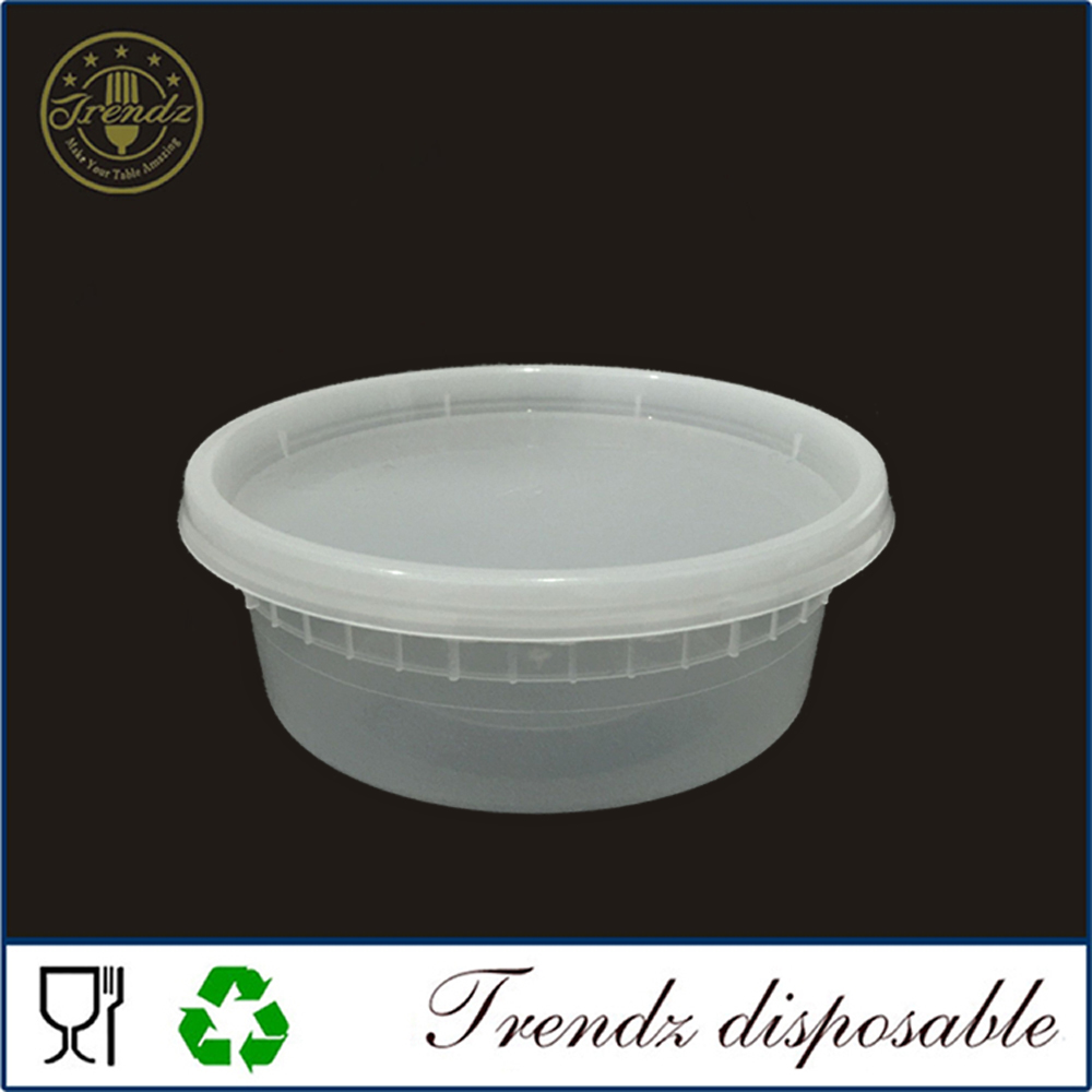 F104 8oz PP container food storage disposable oven safe food container