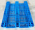 Heavy Duty 1200*1000 4 Four Way Entry Single Face Grid 6 Runner Plastic Pallet
