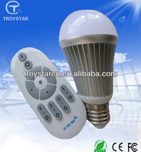 Diamond light with remote control system color temperature and brightness adjustable 2.4G light bulb