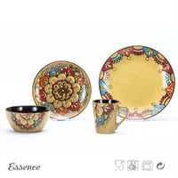 Wholesale best design cheap stoneware moroccan dinnerware