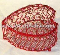 Heart Shape Wire Box GR52583