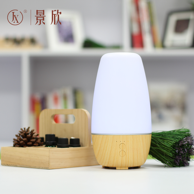 OEM orders acceptable wood grain aromatherapy essential oil diffuser