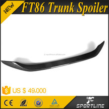 AD Style Carbon Fiber Aftermarket Racing Spoiler For Toyota 86 Scion FR-S GT86 FT86/BRZ
