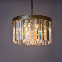 Wholesale small popular style Modern K9/Egypt crystal light home chandelier from Zhongshan factory
