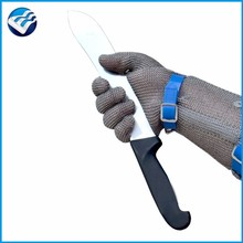 level 5 metal safety working gloves for butcher