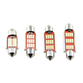 New Auto led light T10 31mm 36mm 39mm 41mm 12 smd 4014 C5W Lighting Lamp Interior Dome Reading Lights