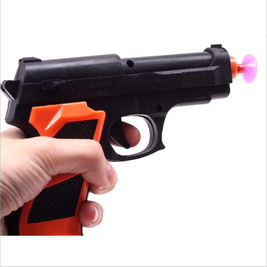 Tricky educational toy 2015 hot sale soft air gun creative and funny children toy piatol gun fashion plastic toys 14.8*10.5cm