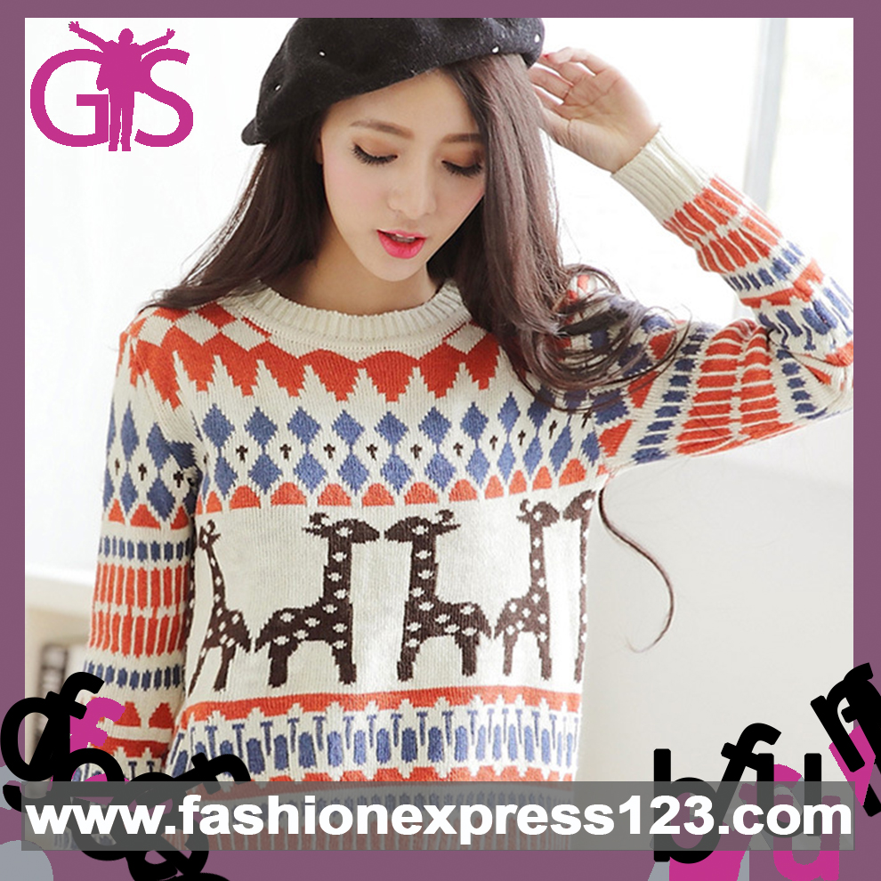 Hot Selling Casual Long Sleeve for Women Ugly Christmas Sweater