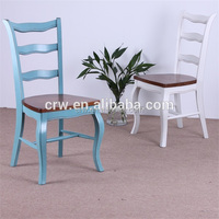 Wholesale Handmade Unfinished Wooden High Chairs Solid Wood Oak Chair