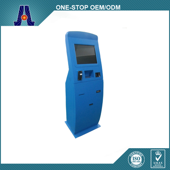 Automatic Self Service Payment Kiosk / Card Reader Cash Payment / Cash Payment Machine