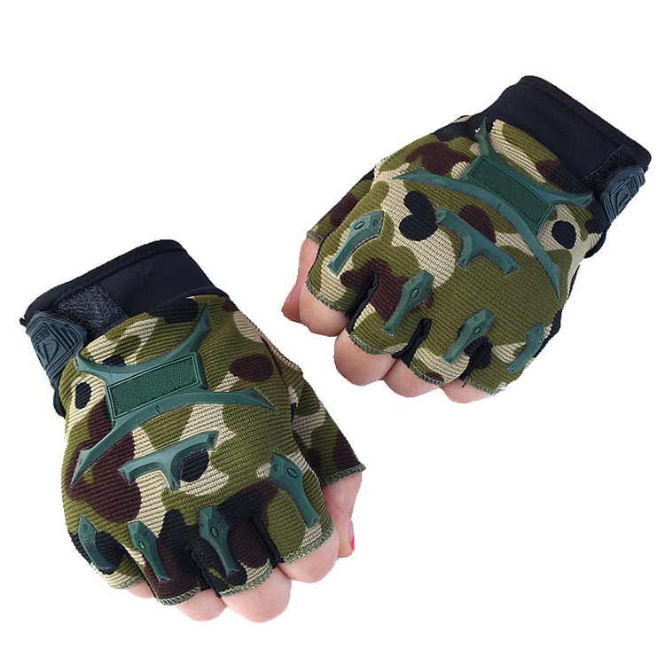shanghai jiading leather tactical military hand glovestraining gloves