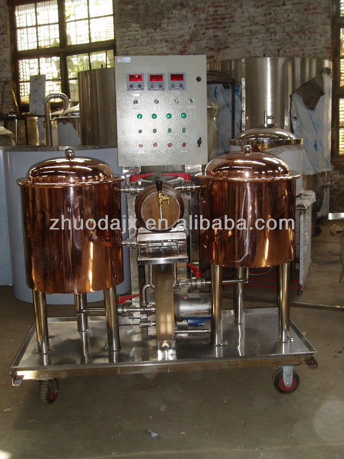 50L USA hot sales conical tank for beer brewing mini cooper kettle brewery
