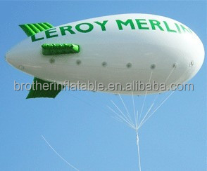 Customerized durable pvc advertising balloon ,heliumzeppelin airship rc made in balloon factory