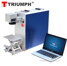 portable ipg fiber laser marker 10W fiber laser marking machines for sale
