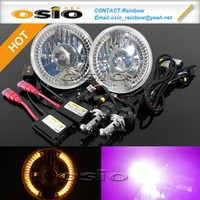 BMC Semi Sealed Beam PROJECTOR LENS LED HALO RING