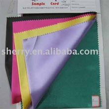 Top supply plain dyed satin spandex fabric for underwear/women garment fabrics
