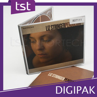 Audio Music CD Digipack with Printing Packaging