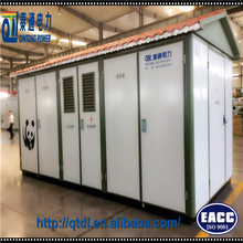 20KV three phase power distribution compact package substation