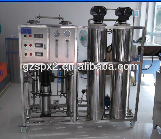 500L high desalt rate RO water treatment for chemical industry