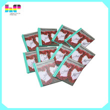 full color customized hardcover paper lamination mini book