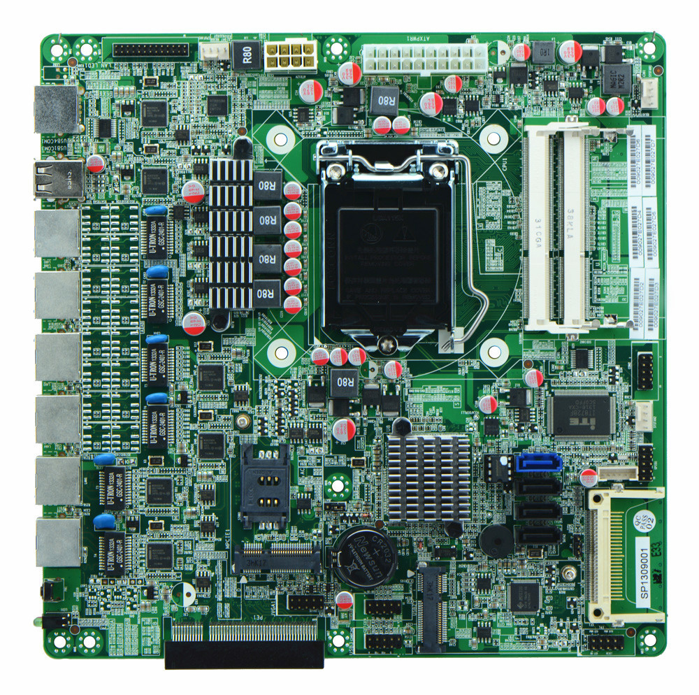 Wholesale I7 Chipset Online Buy Best From China Motherboard H61 Suport I3 I5 Lga 1155 H67 Strongchipset Strong Lga1155 Firewall 6 Gbe Lan Supporting