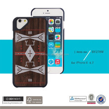 New Style PC+Wood Cell Phone Cover Case for iPhone 6 4.7inch For iPhone6 plus 5.5inch From Alibaba China