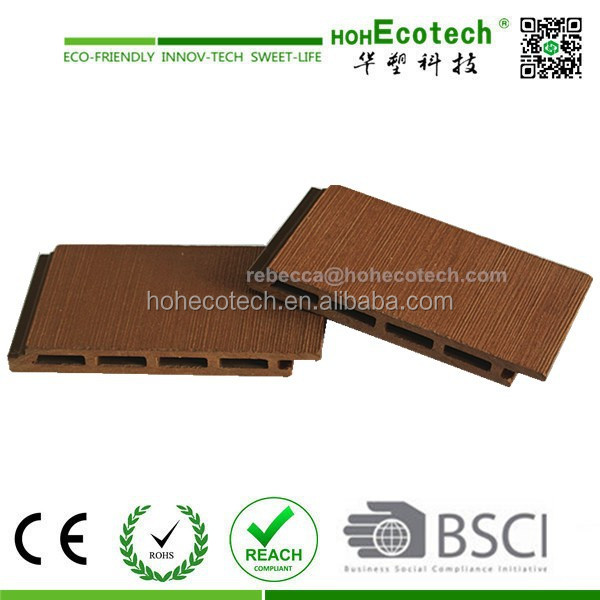 wood plastic decking composite wpc wall cladding panel