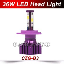 CZG-B3 h4 led headlight bulb h7 led headlight kit d1s led head lights conversion 30w 40w for most cars