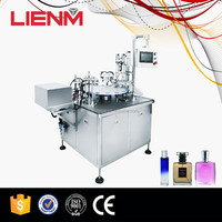 Whirligig Perfume Playing Cover Filling Machine With Peristaltic Pump