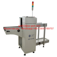 SMT PCB magazine loader and unloader with 4magazines CE certificated