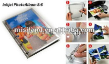 Personalized DIY Inkjet Photo Book 8:5 size for printing