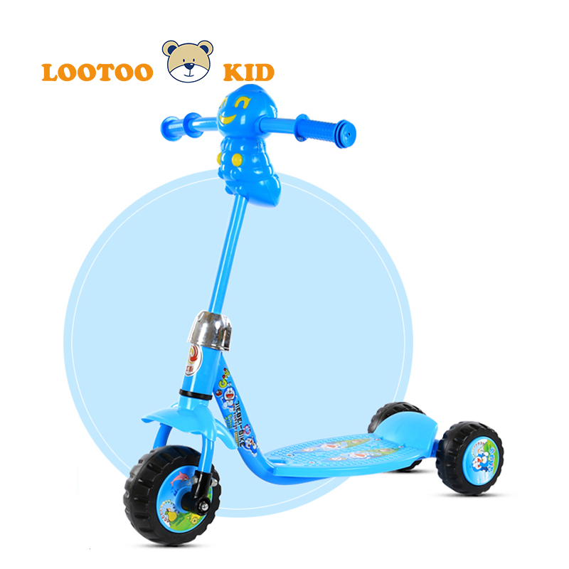 Alibaba china manufacturer cheap price adjustable height newest model pedal kick scooter for kids online