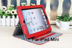 PU leather case for ipad mini,leather case for ipad 6,custom case.